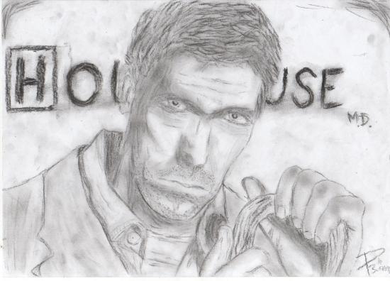 Hugh Laurie par Jeisda